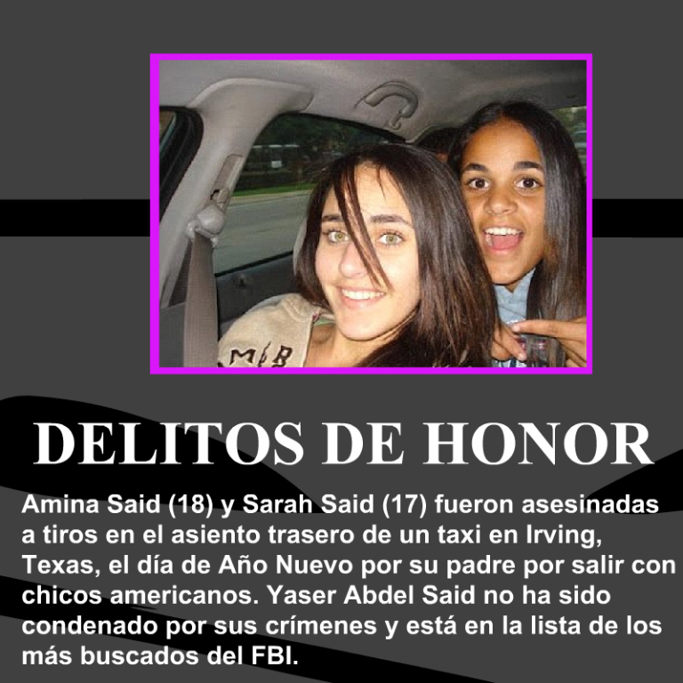 Amina-Said-Sarah-Said-delitos-de-honor
