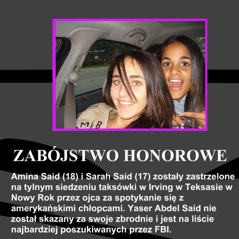Amina-Said-Sarah-Said-zabójstwo-honorowe