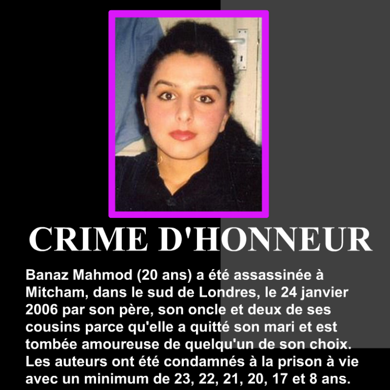 Banaz-Mahmod-crime-dhonneur