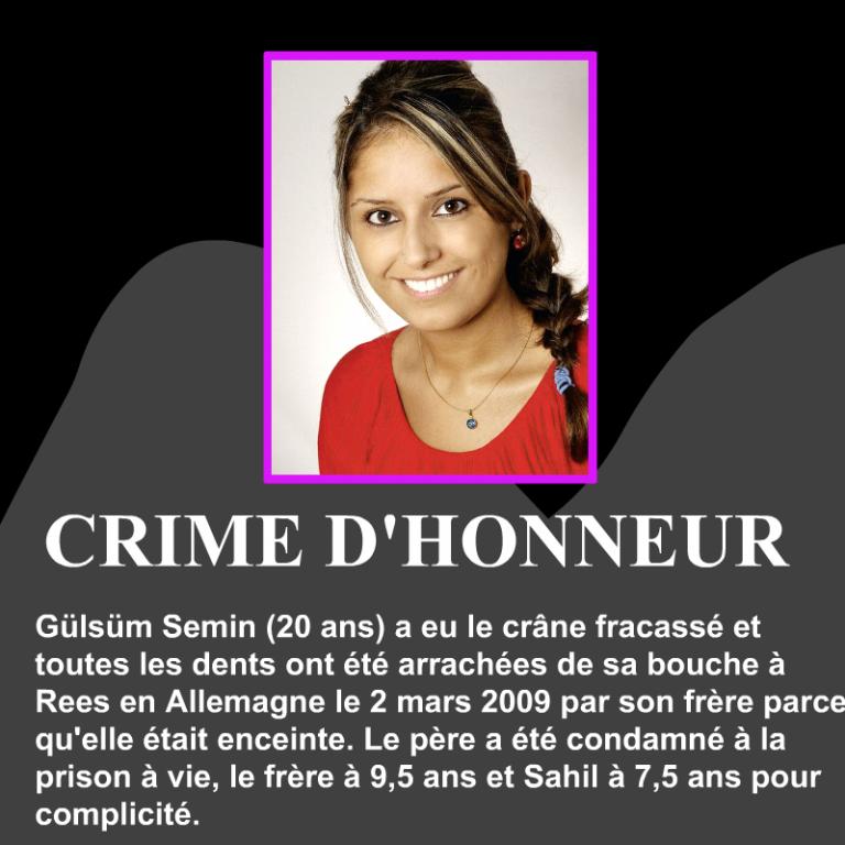 Gülsüm Semin-crime-dhonneur