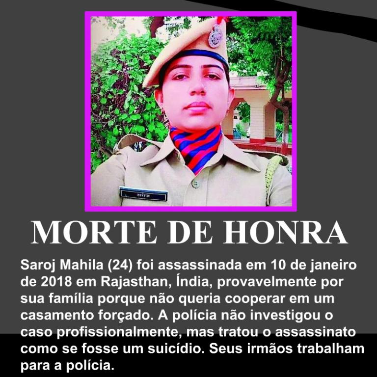 Saroj-Mahila-morte-de-honra